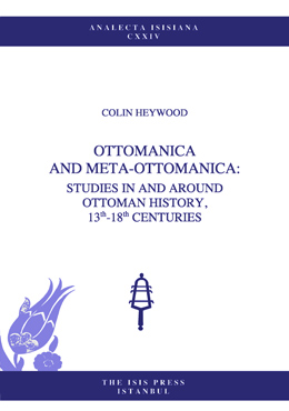 OTTOMANICA AND META-OTTOMANICA: STUDIES IN AND