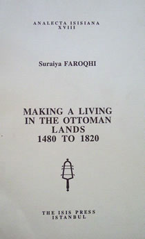 MAKING A LIVING IN THE OTTOMAN LANDS 1480 TO 1820