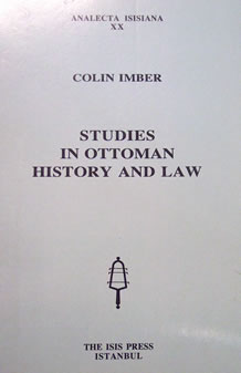 STUDIES IN OTTOMAN HISTORY AND LAW
