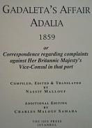 GADALETA?S AFFA�R ADALIA 1859